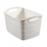 Cesta Ribbon 3 L - Blanco