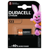 Pila 123 Litio Duracell Ultra M3