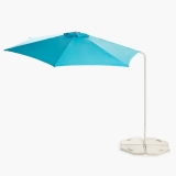 Parasol Lateral  2.7 m. Azul