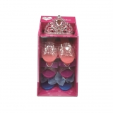 Set de 3 Zapatos y Tiara Aimantine- Carrefour