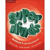 Super Minds 4 Worbook Cambrigd