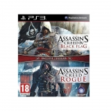 Double Pack AC IV Black Flag y AC Rogue para PS3