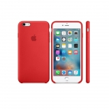 Funda de Piel para Iphone 6 Plus s - Roja