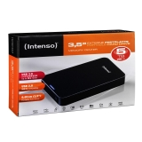 Disco duro Externo Intenso Center 3,5 5TB - Negro