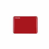 Disco Duro Externo HDD Toshiba Connect II 3TB - Rojo