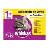 New Generation Whiskas Adulto Aves 4x100gr