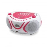 Radio CD MP3 Metronic Pop Pink