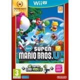 New Super Mario Bros U y Luigi U Selects para Wii