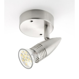 Foco Base  Led GU-10 5W- Satinado