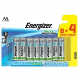 Pack de 8+4 Pilas Energizer Alto Rendimiento Eco Advanced LR 06 AA