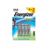 Pack de 4+2 Pilas Energizer Alto Rendimiento Eco Advanced LR 03 AAA