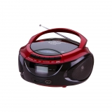 Radio CD Sunstech CRUSM390 - Rojo