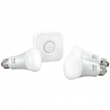 Philips Hue Kit LED Inteligente 9W A60 E27 Iluminación Blanca y Color