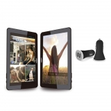 "Tablet Wolder  miTab Arizona con  Quad core, 1GB, 8GB, 10,1"" con Cargador Coche  USB"