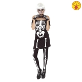 Disfraz de Miss Skeleton Adulto