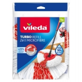 Fregona microfibra y nylon Turbo 2in1 VILEDA  - Bicolor