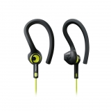 Auricular Deportivo Philips SHQ1400CL/00 Action Fit IPX7 – Negro/Verde