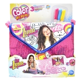 Cife - Color Me Mine Bolso  Sequeen Deluxe Postal Soy Luna