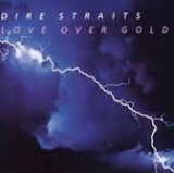 Lp. Dire Straits. Love Over Gold