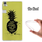 Funda Gel Bq Aquaris E6 Becool Taste Crazy Pineapple