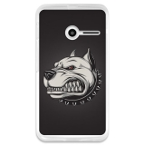 Funda Gel Vodafone Smart First 6 Becool Perro Enojado