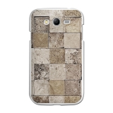 Funda Gel Samsung Galaxy Grand Neo Becool Piedras Cuadradas