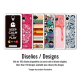 Funda Gel Flexible Tpu Para Woxter Zielo Z400 Bigotes - Becool®