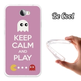 Funda Gel Flexible Tpu Para Huawei Y5ii Keep Calm Comecocos Rosa - Becool®