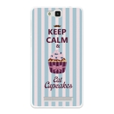Funda Gel Flexible Tpu Para Cubot H2 Keep Calm And Eat Cupcakes - Becool®