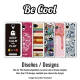 Becool® - Fundas Gel Colorful Abstract Flowers Para Wiko U Feel Fab