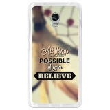 Funda Gel Flexible Tpu Para Lenovo Vibe P1 Todo Es Posible - Becool®