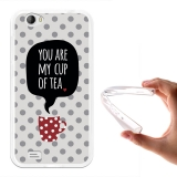 Becool® - Fundas Gel You Are My Cup Of Tea Para Doogee T6 Pro