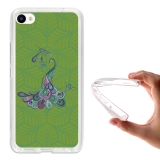 Funda Gel Flexible Tpu Para Meizu U20 Pavo Real Elegante - Becool®