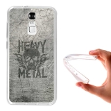 Funda Gel Flexible Tpu Para Zte Blade A610 Plus Heavy Metal - Becool®