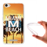 Becool ® - Funda Gel Miami Beach Para Wiko Lenny 3 Max