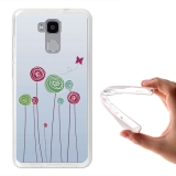 Becool ® - Funda Gel Baby On Board Flores Para Doogee Y6 4g