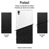 Becool ® - Funda Gel Lineas Blancas Para Huawei Enjoy 6
