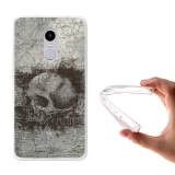Becool ® - Funda Gel Rock Metal Para Xiaomi Redmi Note 4x