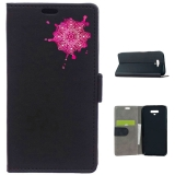 Becool® - Funda Libro Mancha De Mandala Para Huawei Honor Magic