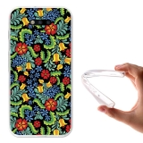 Becool ® - Funda Gel Dibujo De Flores Para Huawei Honor Magic