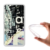 Becool ® - Funda Gel Papel Roto Para Htc U Ultra