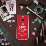 Becool® - Fundas Gel Keep Calm Y Sonríe Para Lenovo Phab 2 Plus