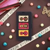 German Tech® - Funda Libro Pop Art Radiocassetes Retro Para Nokia 3
