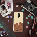 Becool® - Fundas Gel Chocolate Blanco Y Galleta Para Ulefone Power