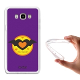 Funda Gel Para Samsung Galaxy J7 2016 Regalos Para Madres Bat Mom Morado - Becool®