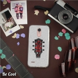 Becool® - Fundas Gel Guitarra Para Lg Stylus 3