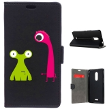German Tech® - Funda Libro Dos Monstruos Para Alcatel A3 Xl