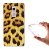Becool® - Fundas Gel Animal Print Leopardo Para Elephone S3