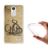 Becool® - Fundas Gel Dibujo Antiguo Kraken Para Leagoo M5