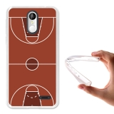 Becool® - Fundas Gel Cancha De Basket Para Leagoo M5 Plus
